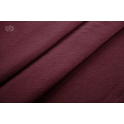 Scene molton stof 300g Bordeaux rød under 30m