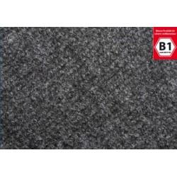 Messe tæppe marmoreret antracitgrå 50m