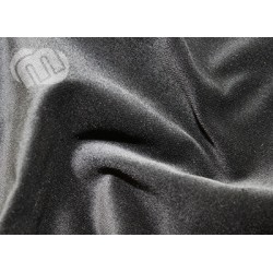 Stage velour Sort 150cm bred