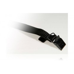 Strop - 25cm x 18mm - Sort