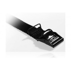Strop - 25cm x 25mm - Sort
