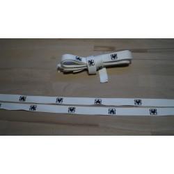 Molton bindebånd hvid 10 stk a 80cm
