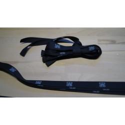 Molton bindebånd sort 10 stk a 80cm