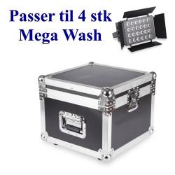 Flightcase for 4 Mega Wash 2410