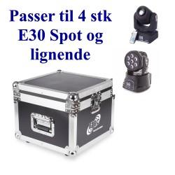 Case for 4 x 7E, ML712 og E30 Spot
