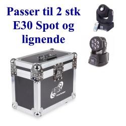 Case for 2 x 7E, ML712 og E30 Spot