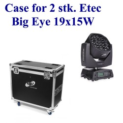 Case for 2 stk. Etec Big Eye 19x15W