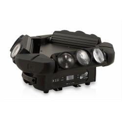 ETEC LED Kaos Triple Spyder Movinghead 9x12W CREE 4in1